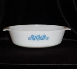 Fire King Floral Casserole Dish (Image1)