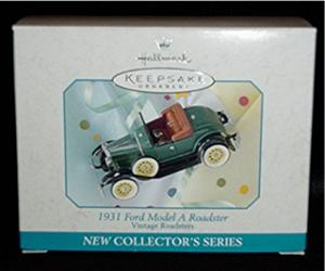 1931 Ford Model A Roadster Hallmark Ornament