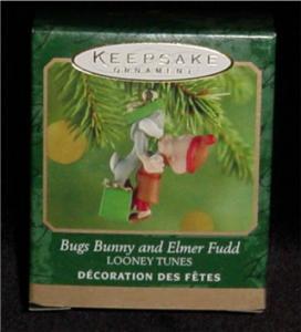Bug Bunny & Elmer Fudd Hallmark Ornament (Image1)