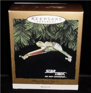 Star Trek Klingon Bird of Prey Hallmark Orn. (Image1)