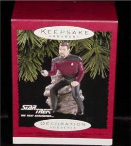 Star Trek Commander Riker Hallmark Ornament (Image1)