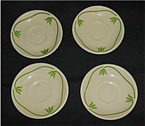 Iruquois China Saucers Set of 4 (Image1)