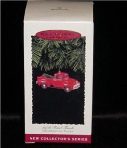 1956 Ford Truck Hallmark Ornament (Image1)