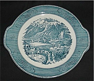 Royal Currier and Ives Plate (Image1)