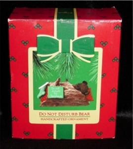Please Do NOT Disturb Bear Hallmark Ornament (Image1)