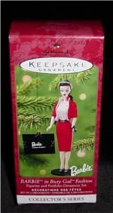 Barbie in Busy Gal Fashion Hallmark Ornament (Image1)