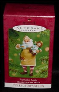 Toymaker Santa Hallmark Ornament (Image1)
