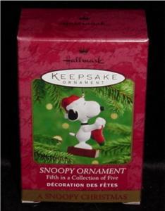 Snoopy Hallmark Ornament (Image1)