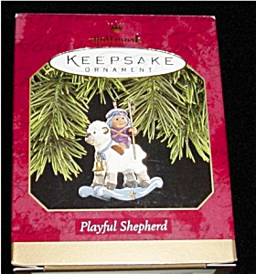 Playful Shepard Hallmark Ornament (Image1)