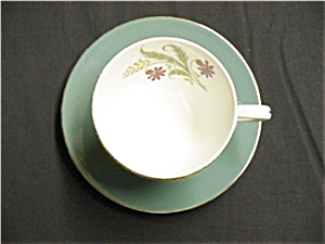 Homer Laughlin Cavalier Cup and Saucer (Image1)