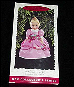 Madame Alexander Cinderella Hallmark Ornament (Image1)