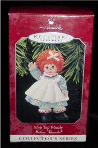 Mop Top Wendy Hallmark Ornament (Image1)