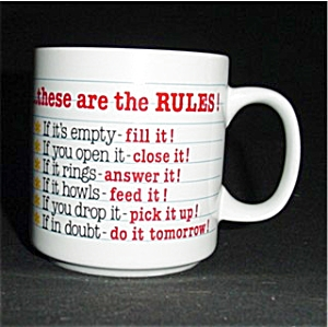 These Are the Rules Coffee Mug (Image1)