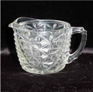 Anchor Hocking Thousand Line Creamer