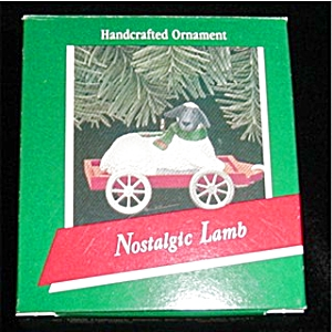 Nostalgic Lamb Hallmark Ornament (Image1)