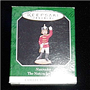 Nutcracker Miniature 1998 Hallmark Ornament (Image1)