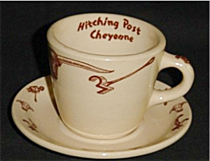 Wallace China Cup and Saucer Set (Image1)