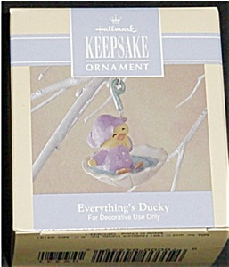 1992 Everything's Ducky Hallmark Ornament