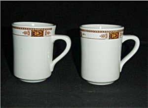 Syracuse China Coffee Cups Set of 2 (Image1)