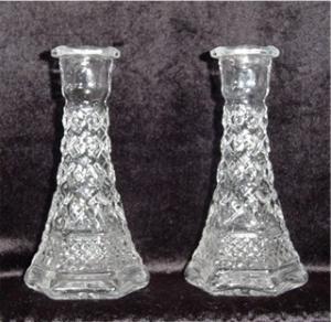 Anchor Hocking Wexford Bud Vases (Image1)