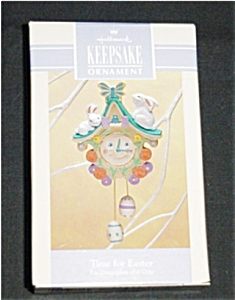 Easter Hallmark Ornament