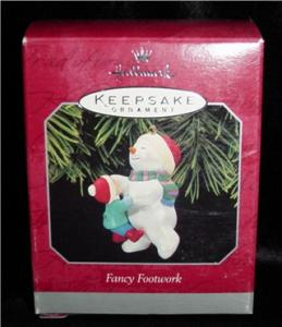 "Hallmark Ornament  ""Fancy Footwork"" (Image1)"