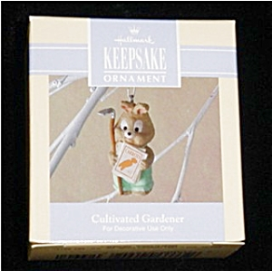 1992 Cultivated Gardener Hallmark Ornament