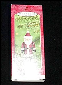 2001 Santa Time Capsule Hallmark Ornament (Image1)