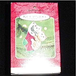 2001 Mom and Dad Hallmark Ornament (Image1)