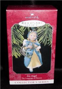 "Hallmark Ornament ""Iris Angel"" (Image1)"