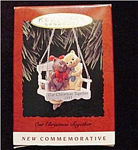 1993 Our Christmas Together Hallmark Ornament (Image1)