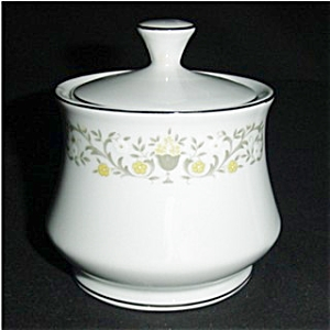 Florentine Fine China Sugar Bowl (Image1)