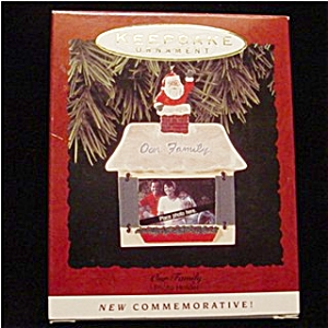 1993 Our Family Hallmark Ornament (Image1)