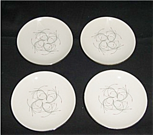 Homer Laughlin Capri Saucer Set of 4 (Image1)