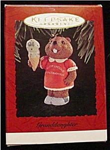 1994 Granddaughter Hallmark Ornament (Image1)