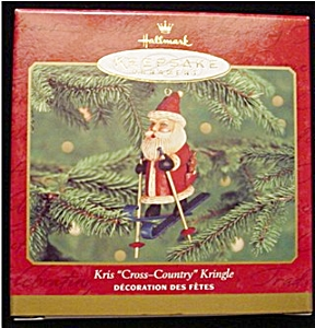 2000 Kris Cross Country Kringle Ornament (Image1)
