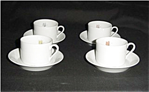 Fitz and Floyd Pastel Poppy Cup & Saucer Set (Image1)