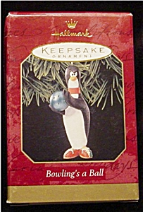 1999 Bowling's a Ball Hallmark Ornament (Image1)