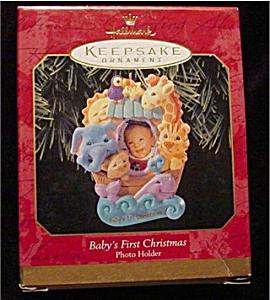Baby's 1st Christmas Hallmark Ornament (Image1)