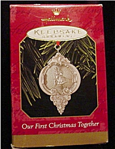 1999 Our 1st Christmas Together Ornament (Image1)