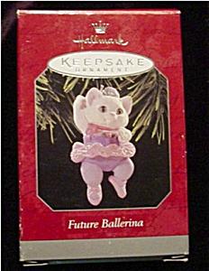 1998 Future Ballerina Hallmark Ornament (Image1)