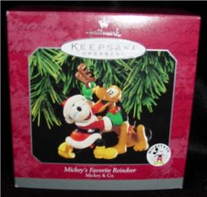 Mickey's Favorite Reindeer Hallmark Ornament (Image1)