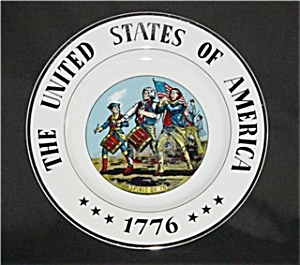 United States Of America 1776 Plate