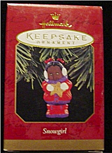 1997 Snow Girl Hallmark Ornament (Image1)