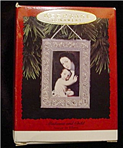 1996 Madonna & Child Hallmark Ornament (Image1)