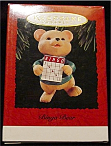 1995 Bingo Bear Hallmark Ornament (Image1)