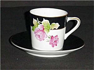 Lefton Cup and Saucer Set (Image1)