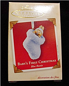 2002 Baby's 1st Boy Hallmark Ornament (Image1)