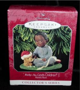 Ricky - All Gods Children Hallmark Ornament (Image1)