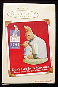 2002 Peter Rabbit Hallmark Ornament (Image1)